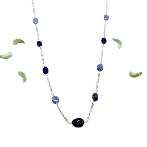 GEORGIA Tanzanite Collar Necklace