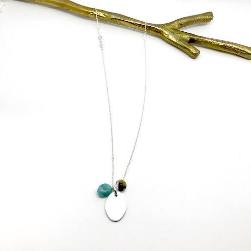Trinket XLong Amazonite Necklace