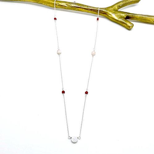 VIVIAN Beryl Morganite Necklace