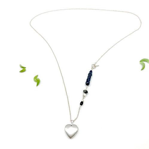 LOCKET Black Pearl Necklace