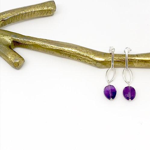 TORI Amethyst Earrings