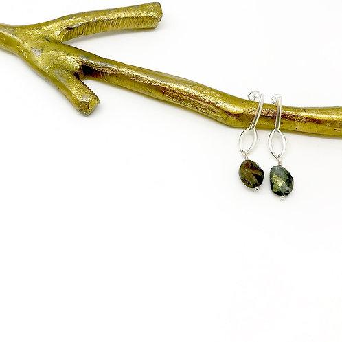 TORI Labradorite Earrings