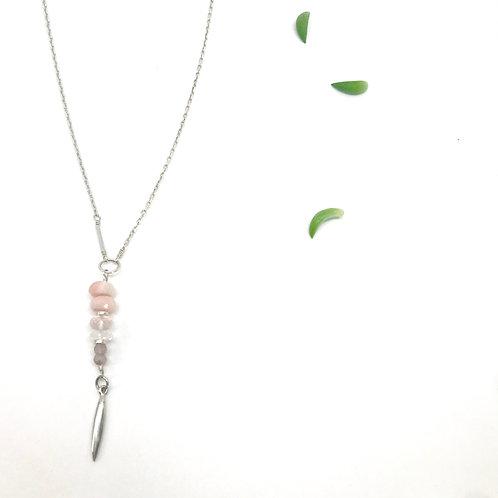 EMMA Pink Opal Necklace