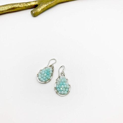 JOSEPHINE Peruvian Opal Earrings