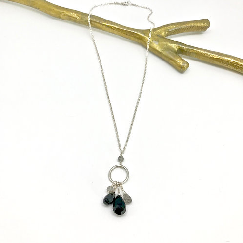FIONA Spinel Drop Necklace