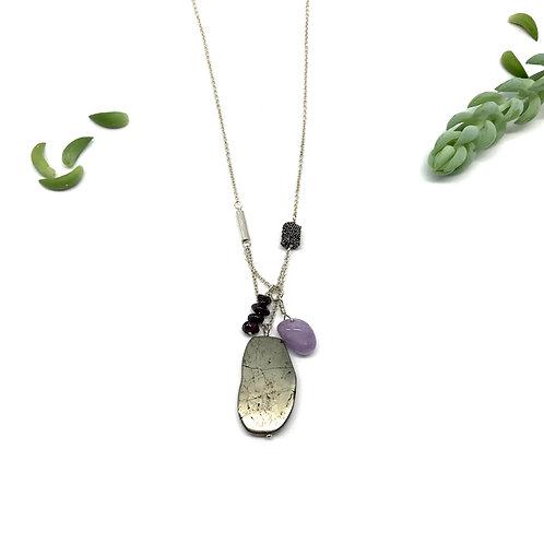 PIPER Pyrite Necklace
