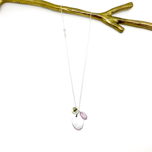 Trinket XLong Kunzite Necklace
