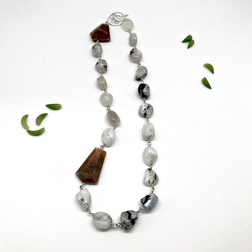 AVIARY Moonstone Necklace