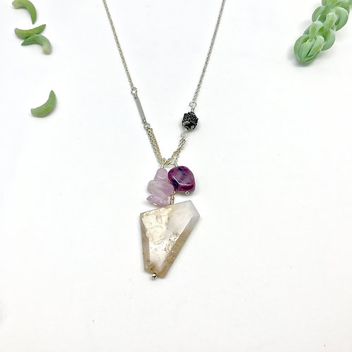 PIPER Pink Opal Necklace