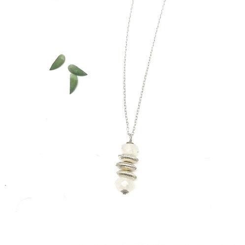 HELENE Moonstone Drop Necklace