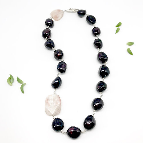 AVIARY Garnet Necklace