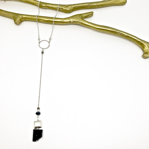 SIMONE Spinel Y Necklace