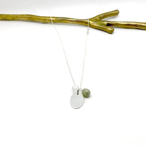 Trinket XLong Aquamarine Necklace