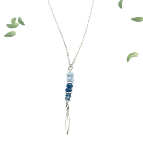EMMA Blue Opal Necklace