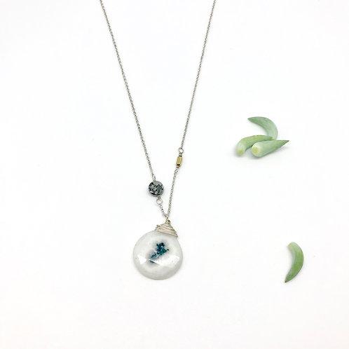 SAM  Solar Quartz Necklace