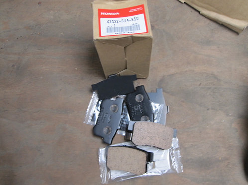 REAR BRAKE PAD KIT ACCORD COUPE
