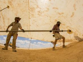 נוהל מבנה מחנה נושא / מתחמי אוהלים