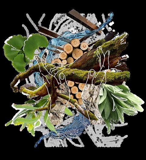 holistic garden landscape design ideas inspiration collage