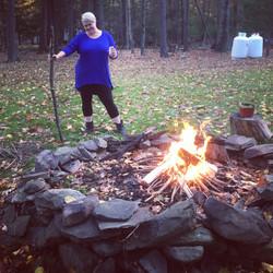 Fall Woodstock, NY retreat