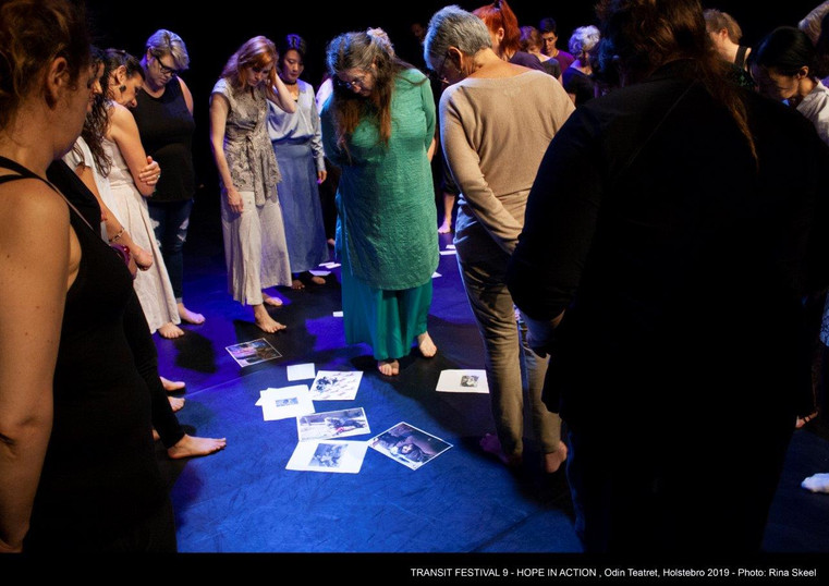 Transit Festival 9 - Hope in Action - Theatre, Women, Will at the Odin Theatre in Holstebro, Denmark. June 12-23, 2019 Photo by Rina Skeel