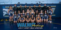 walnut girls restling team