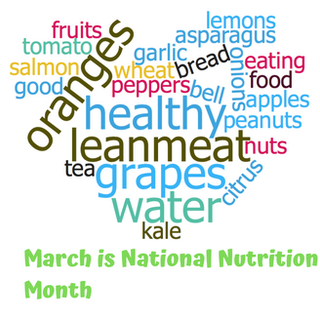 Copy of March is National Nutrition Mont