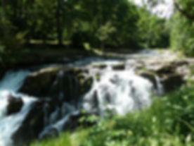 Little Luckiamute River Falls