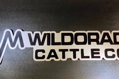 Wildorado Cattle Co. bumper sticker