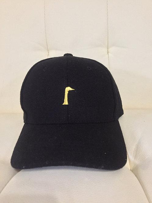 Black Wool Its Goose Dad Hat