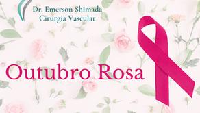 Outubro Rosa - Mês de conscientização do câncer de mama