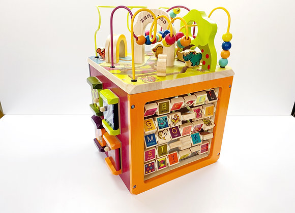 B. Toys Zany Zoo Activity Cube