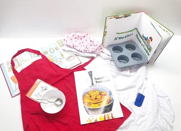 Baker/Chef Mini Kit (Dress Up + Books)