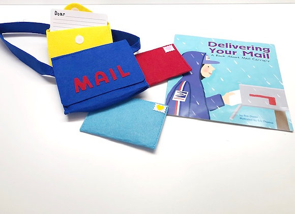 Postal Worker Mini Kit (Dress Up + Book)