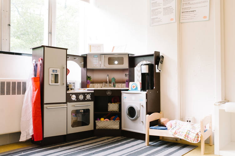 Kitchens and Dramatic Play areas are in both classrooms.