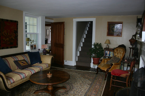 Cozy inviting sitting room