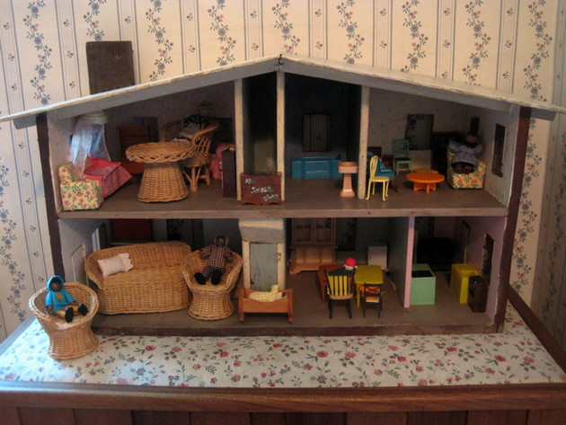 Dollhouse for children, guests