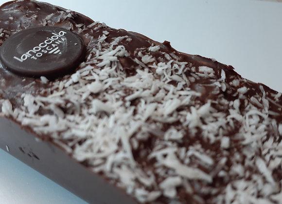 Turrón de chocolate negro y coco