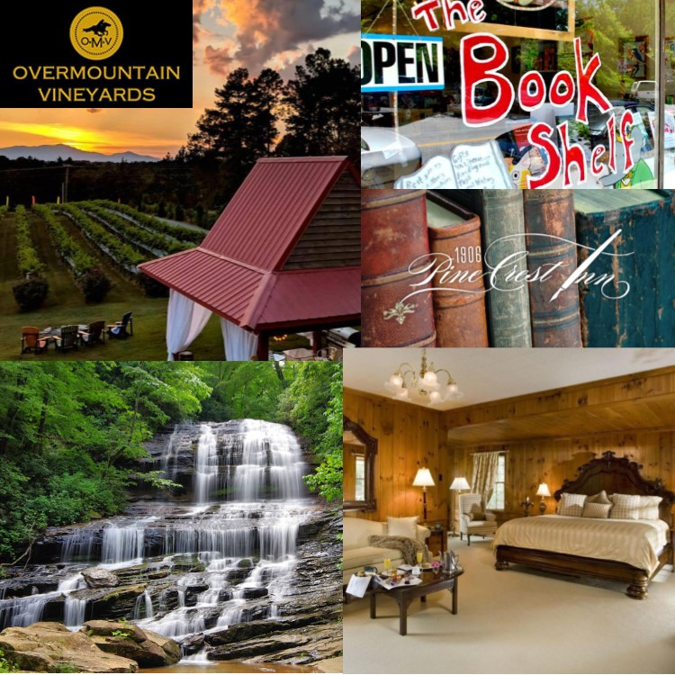 Falls, Wine, and an Overnight in Tryon