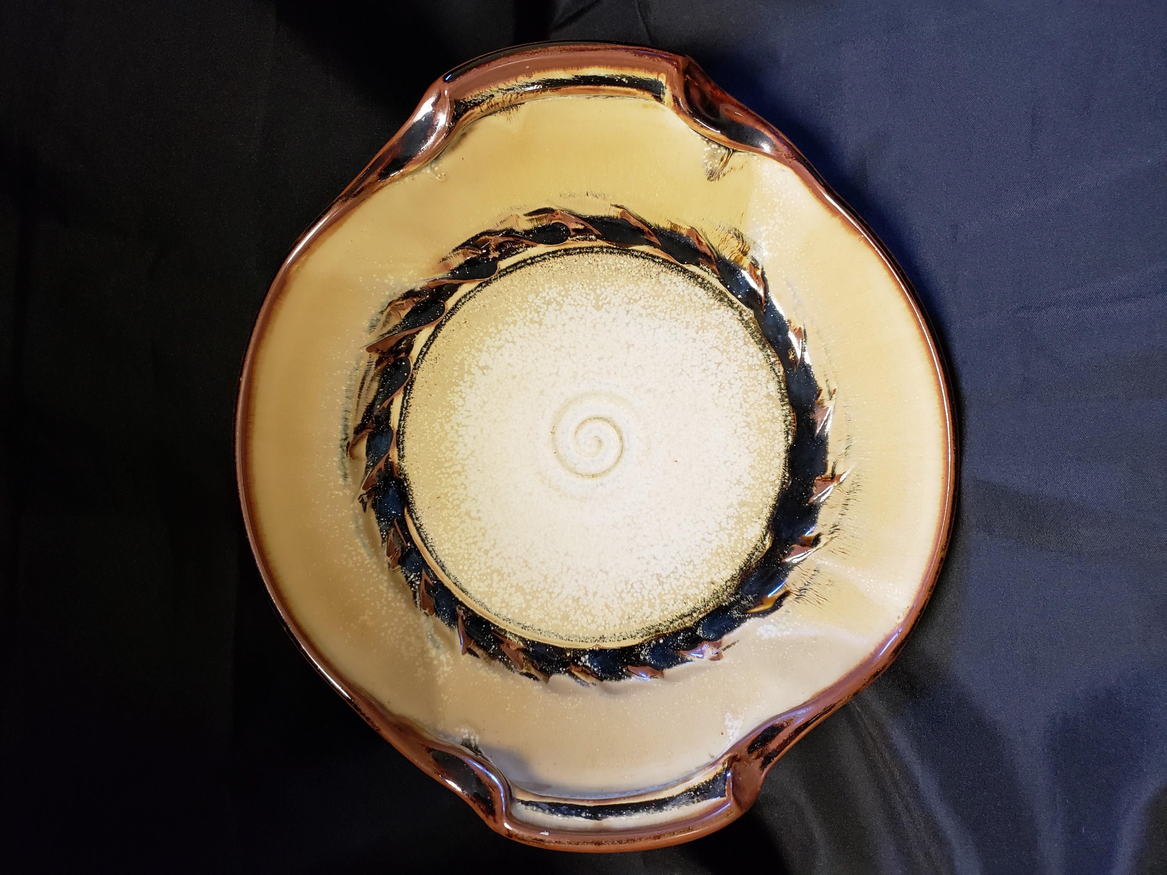 Sarah Wells Rolland Pottery Platter