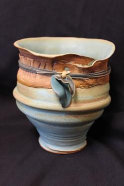 Blue Vase by Janet Leazenby