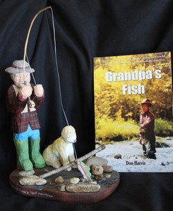 Don Harris Woodcarving and Book