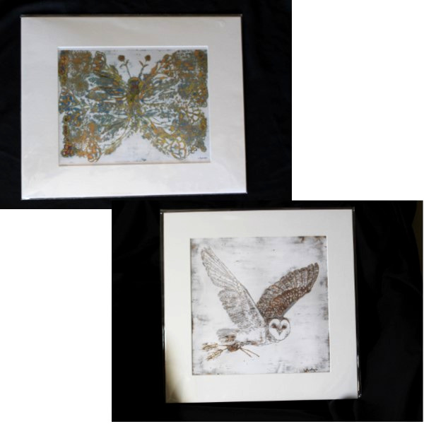 Nature Prints by Leslie Rowland