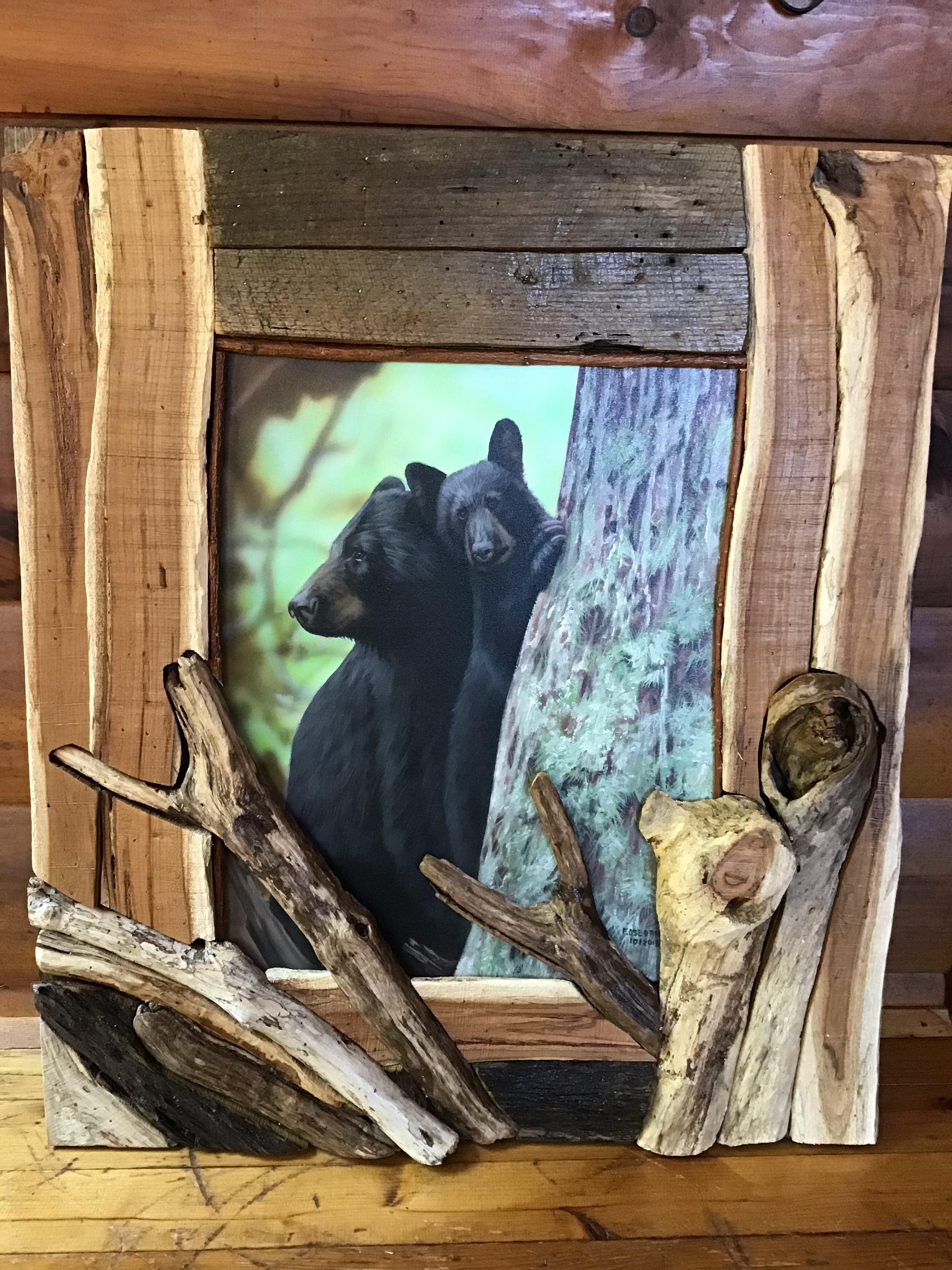 Osborne Painting Framed by Amy Wald