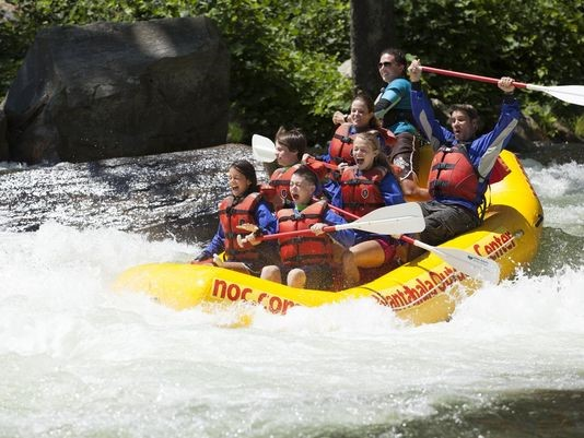 NOC Rafting Experience