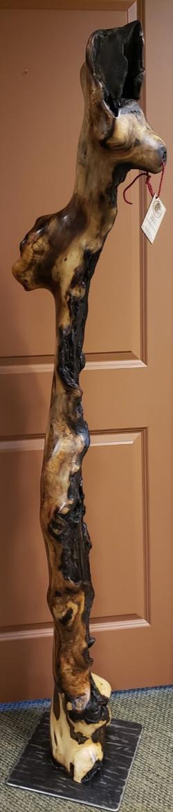 3 Oak Handcrafted Sculpture