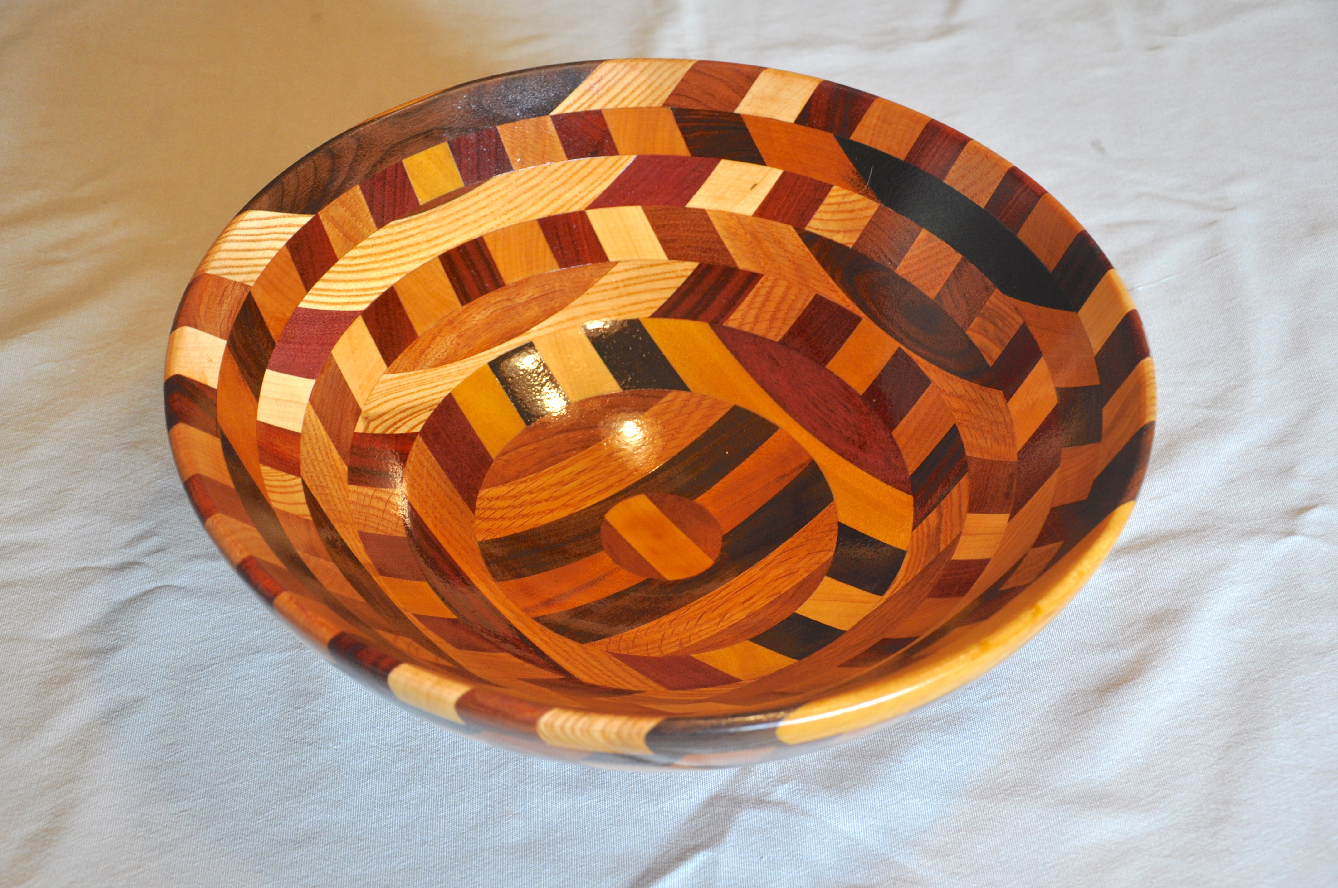Rick Merrill Large Wooden Bowl
