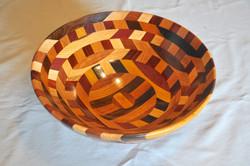 Rick Merrill Large Wooden Bowl