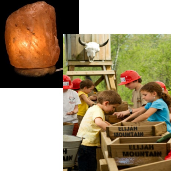 Salt Lamp & Mining Family Pack