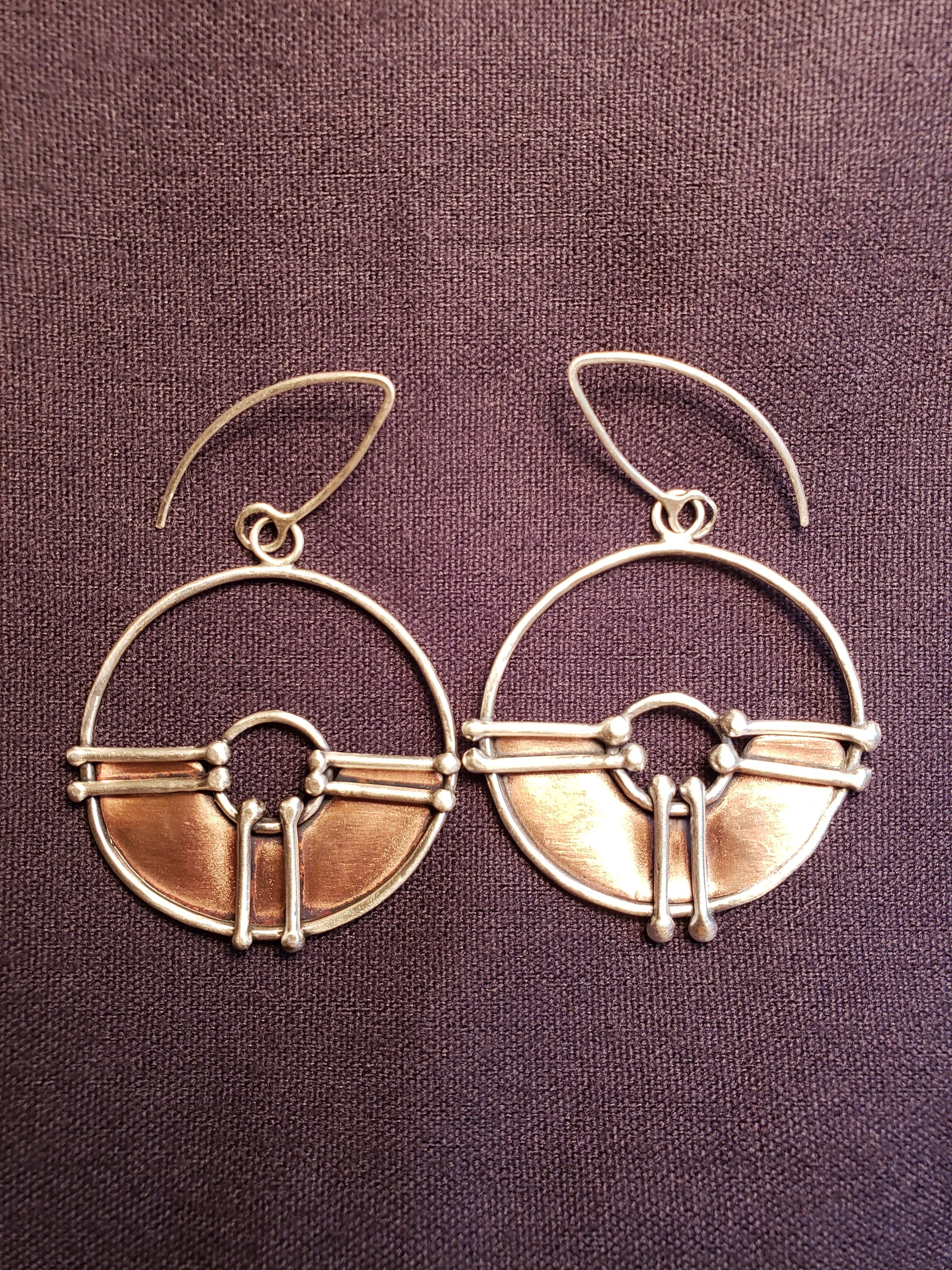 Hoops by JL Merrill Metalworks