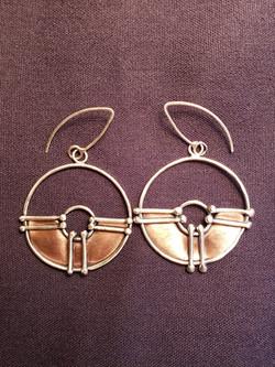 Hoops by JL Merrill Metalworks
